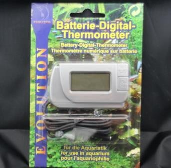 Batterie-Digital-Thermometer mit Fernfühler