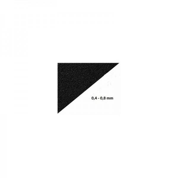 Aquariensand schwarz Körnung 0,4-0,8 mm Inhalt 2,5 kg