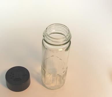 Futter-Mineralien-Streuer Glas 100ml
