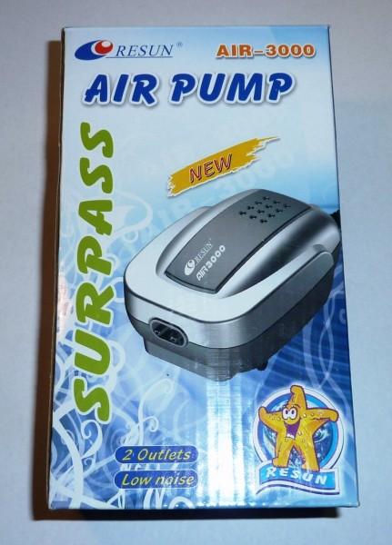 Belüfterpumpe Resun Air 3000