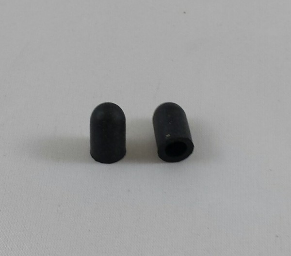 Abschlusskappe Gummi für Luftventile 2St.