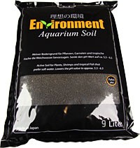 Environment Aquarium Soil, 9 Liter