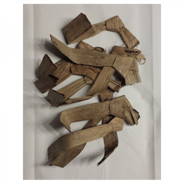 Bananenbaumblätter Fragmente 10 St.