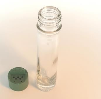 Futter-Mineralien-Streuer Glas 50ml