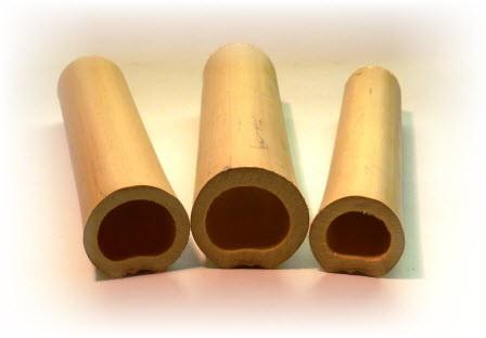 1 x Bambus Röhre Hexenwels