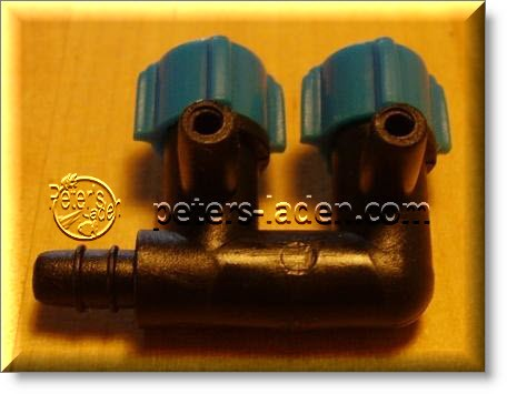 PVC Luftverteiler 2 fach